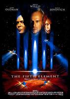 Fifth Element FRIDGE MAGNET 6x8 Bruce Willis Magnetic Movie Poster Canvas Print