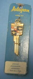 New Old Stock Gold Key Blank 1937-1955 Studebaker Champion free shipping