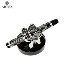 ARTEX 2 Hands Pen Stand , Stylish Pen Accessory, Metal , Desktop , X'mas Gift,