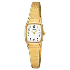 Wrist Watch for Women With Case and Strap Stainless Steel Gold Lorus