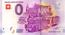 SUISSE Le Bouveret, Swiss Vapeur Parc 2, 2018, Billet 0 € Souvenir