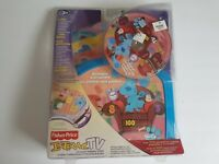 Fisher Price Interactive TV Blue's Clues DVD In Package Vintage