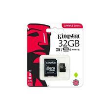 Kingston Memory Card 32GB MICRO SD UHS-1 CLASS 10 Scheda Memoria Micro SD HC