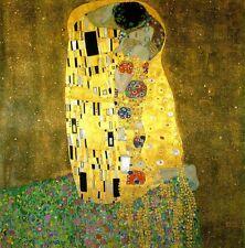The Kiss - Gustav Klimt - 1907-1908, A4 Fine Art Poster