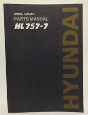 Hyundai Wheel Loader Service Manual HL757-7 Shop Book