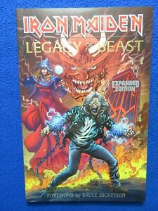 IRON MAIDEN LEGACY OF THE BEAST TPB EXPANDED EDITION  2019 HEAVY METAL LAST ONE