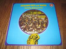 LP vinyl HIGHLAND PIPES & DRUMS Olympic Records Atlas 6141  INNES TARTAN  NM