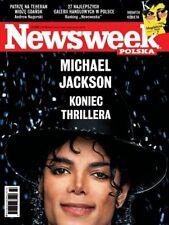 MICHAEL JACKSON - NEWSWEEK MAGAZINE - POLISH EDITION magazin mag マイケル·ジャクソン