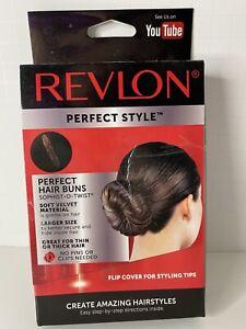 Revlon Perfect Style Sophist-O-Twist Bun Maker BROWN Hair Style Tool A27