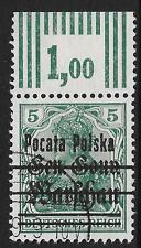 Poland stamps 1918 MI 7I ovpt ERROR  POCATA  CANC   VF