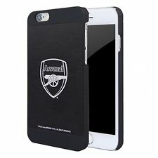 Arsenal FC Apple iPhone 7 I7 Metal Aluminium Black Case Hard Cover Gift