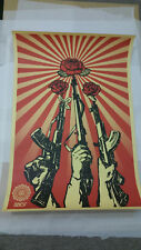 OBEY Guns and Roses Large Print-firmato – 2007 – Shepard Fairey