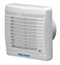 "Quality Vent Axia VA100SVXH12 SELV 12 Low Voltage 4"" Humidity Extractor Fan -New"