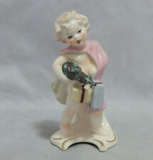 Goebel December Girl Figurine with Tree and Presents 12032 12
