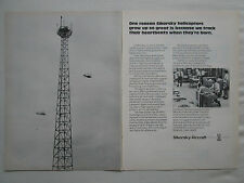 9/1974 PUB SIKORSKY AIRCRAFT H-53 CH-53E RAPID IN-FLIGHT DATA ACQUISITION AD