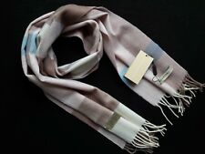 Burberry Women Pink Beige %100 Cashmere Scarf Nwt Ship to Worldwide