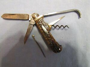 Vintage Horseman's Knife. George Buck London. England c.1850s. Solid Antique