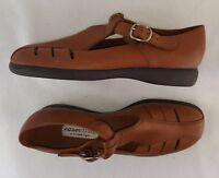 Essentials By Etienne Aigner Women's Sandals, Brown Size 8.5
