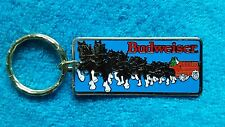 """VTG BUDWEISER CLYDESDALE  Key Chain Ring Officially Licensed """"NEW"""" Old Stock"""