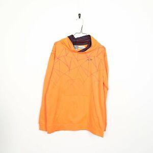 Kids CHAMPION C9 Polyester Hoodie Sweatshirt Orange | XL 16-18