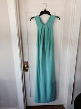 Clove Nordstrom, Turquoise, Sleeveless Cut-Out, Maxi Dress, Women's 8