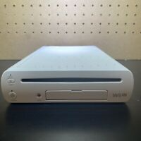 Nintendo Wii U Console Only WUP-001(02) (White) Tested & Working-Free Ship!