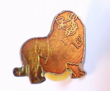 King of the Jungle Lion Zoo Animal Hat Lapel Pin