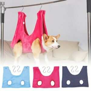 Cat Dog Hammock Helper Microfiber pet Grooming Hammock Restraint Bag Pet Towel
