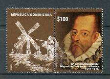Dominican Republic 2016 MNH Miguel de Cervantes 1v Set Literature Writers Stamps