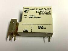 Relais, 24VDC, Schaltkontakt, 16A, 250VAC, 1600R, Schrack, 0410 83 046 001WG,PCB