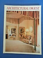 Architectural Digest December 1999 Andy Williams Count Federico Zichy-Thyssen