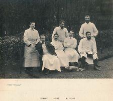 Hôpital COCHIN Annexe c. 1908 - Médecins Chirurgiens Internes Paris - 13