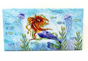 Punch Studio Desk Accessory Flip Top Nesting Box Mermaid Dream 61939 Large