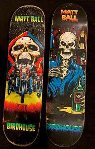 Birdhouse Matt Ball Skateboard Deck X 2