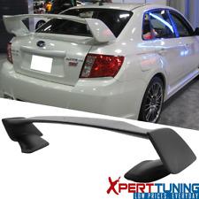 Fits 08-14 Subaru Wrx 08-11 Impreza Sti Sedan Style Trunk Spoiler Wing (Abs)