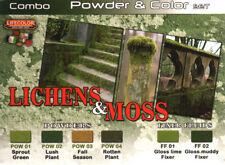 LIFECOLOR Detailing Set SPG06 - Lichens & Moss Colors - 6x22ml Acrylic Paints