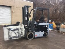 2012 Nissan Electric Forklift With Cascade Tipping Clamp (appliance) 1600 Hours