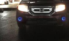 2009 2010 2011 Honda Pilot Angel Blue Eye Fog Lights Lamps Driving Lights kit