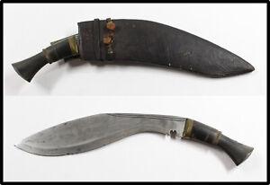Vintage old kukri knife NEPAL well made LOOK NICE w sheath and tools