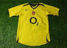 ARSENAL LONDON ENGLAND 2005/2006 FOOTBALL SHIRT JERSEY AWAY NIKE ORIGINAL YOUNG