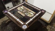 New Orleans Saints Unique Won't Bow Domino Table by Domino Tables by Art