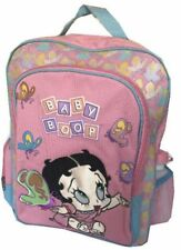 Betty Boop baby large backpack School bag knapsack Free Sports bottle new w tags