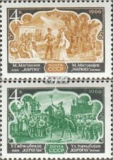 Soviet-Union 3277-3278 (complete issue) unmounted mint / never hinged 1966 azerb
