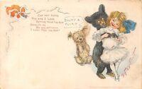 POSTCARD  CHILDREN   BEAR  Related   Billy's  a  Flirt      TUCK