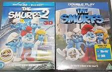 """""""The Smurfs"""" + """"The Smurfs 2 in 3D"""" - BluRay - Ton:englisch - in OVP"""