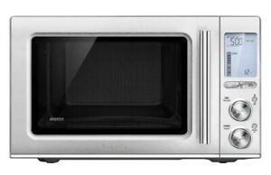 Breville Smooth Wave Countertop Microwave Oven Brushed Stainless Steel
