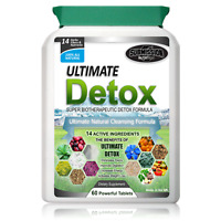 BEST Detox Weight Loss Colon Cleanse Fat Burner Pills Dieting Slimming Tablets