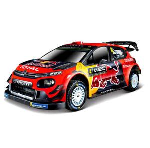 Citroen C3 WRC Rally Monte Carlo 2019 Seb Ogier 1:32 Scale Die-cast Model Car