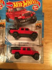BRAND NEW 2020 HOT WHEELS '20 JEEP GLADIATOR LOTS OF 2