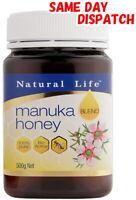Natural Life 100% Pure Manuka Honey BLEND 500g  / MGO UMF